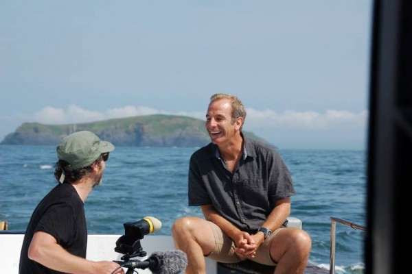 Robson Green pays a visit!